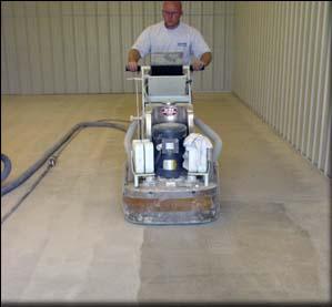 Diamond Grinding Of Concrete Floors