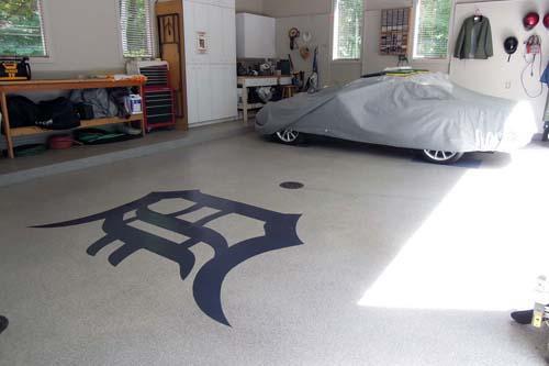 decorative concrete floor paint.htm painting   polishing concrete cement garage grand rapids  michigan  cement garage grand rapids  michigan
